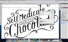 Tips for bringing drawn type into the computer. This site also has great daily typographic illustrations.