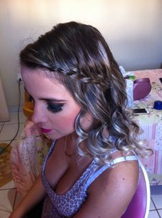 Make e cabelo para casamento ❤️ #JobDoFds