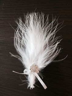 Wedding feather handmade