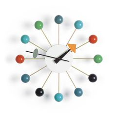 Ball Clock Multi: I bet with a little patience and creativity, I can make this too!! Maybe even try different shapes or use kids building blocks instead!