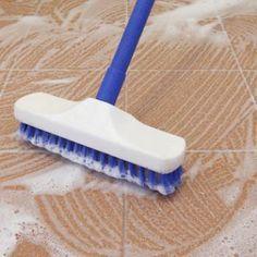 C Baking Soda C Hydrogen Peroxide Tea Liquid - What is best to mop tile floors with