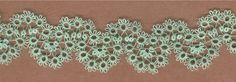 Single Shuttle Scalloped Edging Tatting Pattern