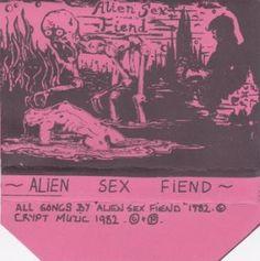Alien Sex Fiend - Alien Sex Fiend (Cassette) at Discogs