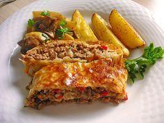 Hackfleisch - Paprika - Käse - Strudel, ein schmackhaftes Rezept aus der Kategorie Gemüse. Bewertungen: 57. Durchschnitt: Ø 4,5.