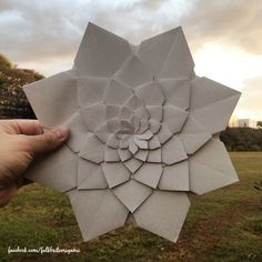 Falk Brito Origami: Mandala Macuxi