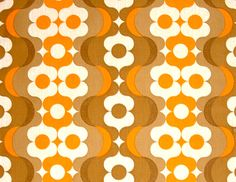 Nostalgia. We had orange and brown wallpaper in the 70s.