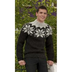 Maybe I should knit this sweater for men?