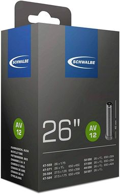 Schwalbe Fahrradschlauch EK AGV 40 mm, Schwarz, 26 x 1 mm Cali, Bicycle, Products, Super, Wheels, Bike Parts, Swallows, Road Cycling, Bicycle Kick