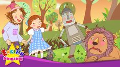 The Wizard of Oz - Nice to meet you - English story for Kids