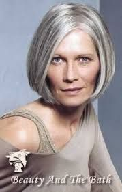 Image result for grey hair bob hairstyles