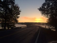 Sunrise on the Scituate Reservoir. Scituate, RI. Photo by Susan Sward.