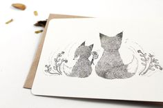 10 Thank You Notecards  Father Fox by whimsywhimsical on Etsy, $16.00