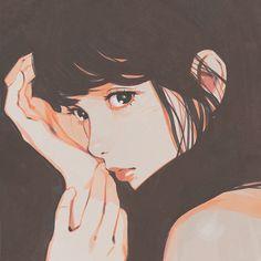 digital art girl graphic design aesthetic drawing photoshop modern anime style asian japanese chinese ethereal g e o r g i a n a : a r t Cartoon Kunst, Anime Kunst, Cartoon Art, Art Manga, Anime Art Girl, Anime Girls, Manga Anime, Art And Illustration, Character Illustration