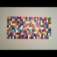 Paint chip art!