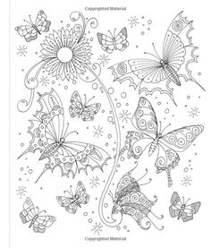 Coloring Book Art Adult Pages Tangled Paisley Detailed Garden Abstract