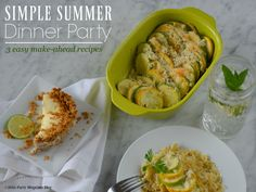 Simple Summer Dinner Party