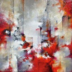 Impulse by Mark Yearwood Mixed Media ~ 24'' x 24''
