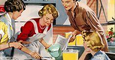"""Que bom que eu não era uma mulher casada dos anos 50, jamais teria conseguido cumprir este manual e aposto que deve ter sido escrito por homens.Este guia de 1950 dá 18 dicas para mulheres serem """"boas esposas"""". A última é um insulto!"""