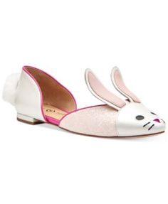 Katy Perry Jessica Bunny Flats $129.00 Step into a super-cute look with Katy Perry's whimsical Jessica Bunny flats, complete with bunny ears and tail.