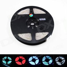 1. This LED strip light is widely used in room, hotels, clubs, shopping malls, boutiques and other places construction and decoration, which also can be used in bicycle, car decoration. 2. Environmental friendly; Self-adhesive back with double side adhesive tape. 3. With 24-key controller and 12V 5A power adapter, convenient to use. http://j.mp/1uNTUna