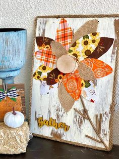 Fall Crafts, Diy Crafts, Upcycled Crafts, Dollar Store Crafts, Fall Decor, Holiday Decor, Dollar Tree, Rolling Pins, Gift Wrapping