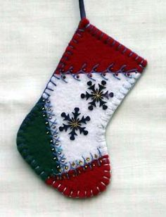 adorable felt stocking