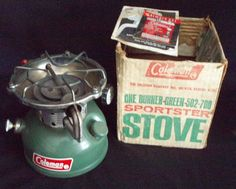 Camping Guide For Beginners Camping France, Camping In Maine, Yellowstone Camping, Coleman Stove, Coleman Camping Stove, Santa Cruz Camping, Camping Cornwall, Camping In England, Old Stove