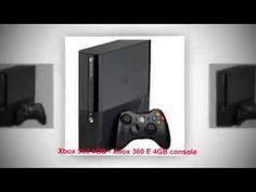 Xbox 360 4GB - Xbox 360 E 4GB console