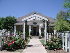 Hickory Street Cafe. Abilene, Texas . open for lunch Monday - Friday 11:00-2:00. Come see us . House Circa 1895 and our rose garden.