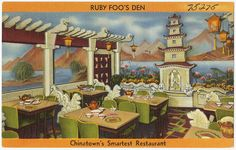 Ruby Foo's Den, Chinatown's smartest Restaurant | by Boston Public Library