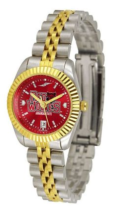 Arkansas State Red Wolves Ladies Executive Watch With AnoChrome Dial