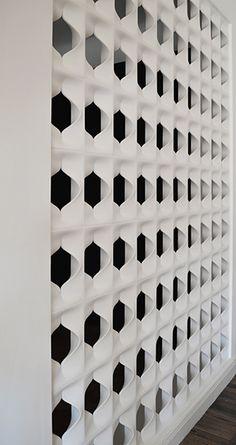 #Leone | vuoto nella materia  | matter emptyness #cobogò #modular #element #elemento #modulare #paretidivisorie #wall #dividingwalls #architectural #gessoceramico #ceramicplaster  #mg12 #arredamentodiinterni