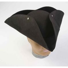 Molded Pirate Hat - Chuckles Unlimited