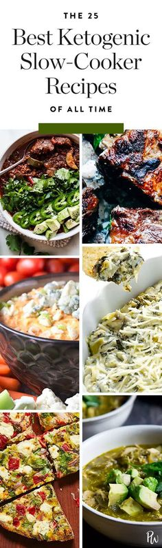 20 Best Ketogenic Slow-Cooker Recipes of All Time if you're a set-it-and-forget-it type, you'll love these 25 ketogenic slow cooker recipes.if you're a set-it-and-forget-it type, you'll love these 25 ketogenic slow cooker recipes. Keto Crockpot Recipes, Healthy Recipes, Slow Cooker Recipes, Low Carb Recipes, Diet Recipes, Cooking Recipes, Crockpot Meals, Keto Foods, Ketogenic Recipes