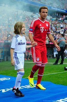 ~ Mario Gotze on Bayern Munich ~