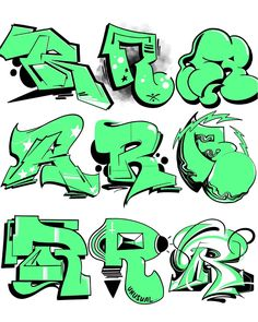 Maybe the greatest letter of the alphabet! Your favorite R? ✅❎🔫 ———… Maybe the greatest letter of the alphabet! Your favorite R? Grafitti Letters, Graffiti Lettering Alphabet, Graffiti Font, Graffiti Tagging, Graffiti Drawing, Graffiti Styles, Graffiti Artists, Typography Letters, Graffiti Artwork