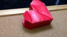 Daily Origami: 605 - Heart Box, via YouTube.