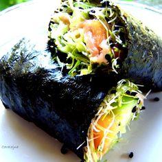 no rice but sprouts sushi / wariacje na temat sushi (I) - DoradcaSmaku.pl