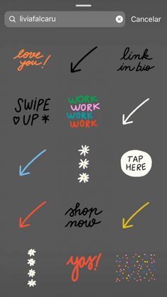 "(""new post"", ""tap here"" ou ""good vibes only"") Instagram Blog, Instagram Editing Apps, Feeds Instagram, Instagram And Snapchat, Instagram Story Ideas, Gifs, Creative Instagram Photo Ideas, Snapchat Stickers, Instagram Highlight Icons"