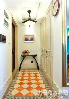 Southeast Asian style decorated entrance porch design 2015