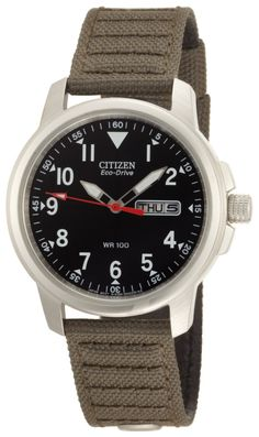 You will never run late with this men's sporty, Eco-Drive timepiece. #Citizen #Watches
