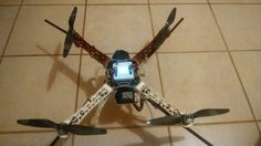 F450 quadcopter with kk 2.1.5  board