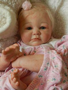 Precious Cargo Presents Reborn Baby Girl Aubrey Sculpt by D Pratt Adorables | eBay