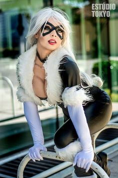 Polly Cosplay as Black Cat (Marvel Comics)