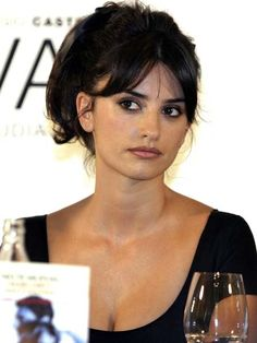 Image result for penelope cruz bangs
