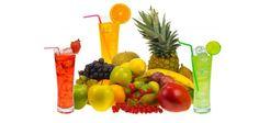 Beba sumos de frutas