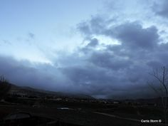 Waiting for some much needed weather 2-22-15 Tehachapi, CA can not even see the sunset.