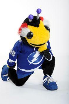 Thunderbug - Tampa Bay LIghtning's mascot