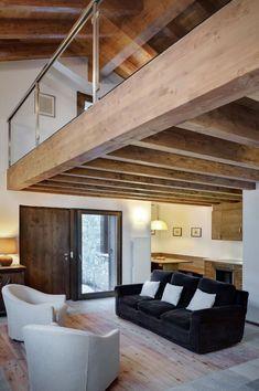 pequena-vivienda-estilo-tradicional-exteriores-rusticos-e-interiores-modernos-4 #modernointeriorescasas