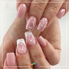 Belle e graziose, variegate e incantevoli, piccole ma avvicinabili, le farfalle ci portano verso il lato soleggiato della vita. Perché ognuno di noi merita un po' di sole. (Cit.)  Allungamento e struttura interamente realizzati con #covergelnude gel trifasico ad alta densità  #nailart #farfalle  realizzata con #uvpaint #whitesnow  #french ad incastro con #powershine . . . . #nail #nails #gelnails #gelcolor #naildesign #instanails #nailstagram #nailstyle #butterfly #farfalle #naildesign…